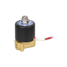 two position two way direct drive type solenoid valve