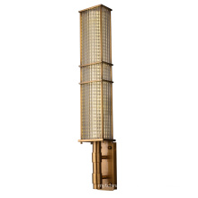 Vintage Classic Decorative Modern Indoor Lighting Led Glass Tube Crystal Wall Lamp