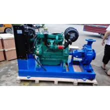 Water Cooled Diesel Engine Trailer Pump