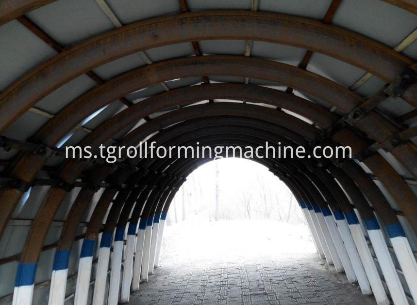 Steel Purlin Machine