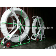 Cable Installation Tools, Easy Movable Cable Duct Rods, Fiberglass Snake Rod with Antirust Leader