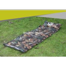 Outdoors Camuflagem automática inflação colchão de ar