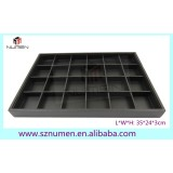 new arrival jewelry tray stackble 24 compartments jewelry display tray