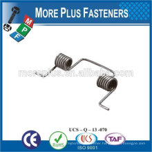 Made IN TAIWAN high qualiy small spring stainless steel spring Double Torsion Spring