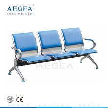 AG-TWC002 Kaltwalzen Stahlplatte Krankenhaus Wartezimmer Sitzbank
