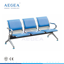 AG-TWC002 cold rolling steel plate hospital waiting room bench seating