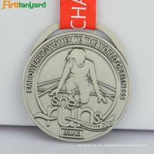Medalla de recuerdo de logotipo personalizado de diseño