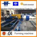 Hot DIP Galvanizing Steel Solar Power Frame Roll Forming Machine