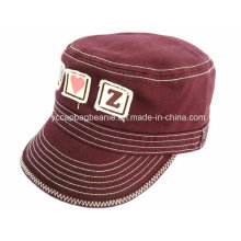 100% Cotton Distress Washed Military Cap