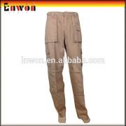 Fashion cotton breathable workwear uniform work pants