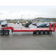 80 Ton Low loader semi-remorque camion