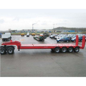80 Ton Low loader semi-reboque usado