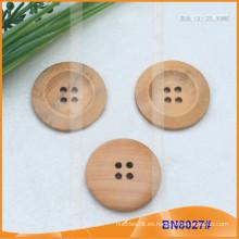 Costura de madera botón Scrapbooking BN8027