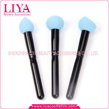 Esponja de maquiagem grátis látex personalizados com diferentes cores e formas para escolhas esponjas de mistura