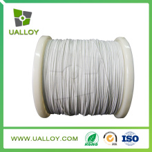 Aislamiento de fibra de vidrio alambre de nicromo aislado