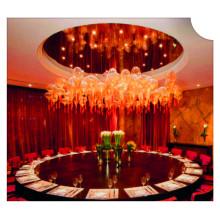 Éclairage de projet de boule de verre décorative d'hôtel