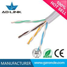 Precio de fábrica bajo FOB Shenzhen cable del cca cat5e del utp