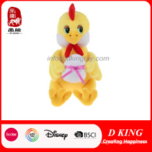 High-Quality Plush Stuffed Cute Chicken with Egg