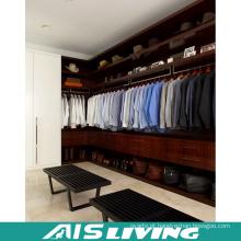 Armário do vestuário do quarto da grande madeira maciça do armazenamento (AIS-W363)