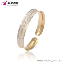 New Fashion Xuping Elegant Simple Multicolor Imitation Jewelry Bangle with in Brass and Alloy 51355