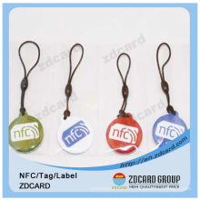 Étiquette RFID lavable / étiquette NFC passive / étiquette RFID anti métal