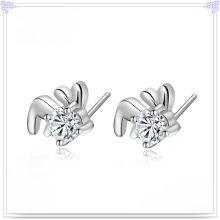 Кристалл серьги ювелирные изделия стерлингового серебра 925 ювелирные изделия (SE142)