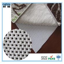 PVC foam carpet rug/non slip rug pad