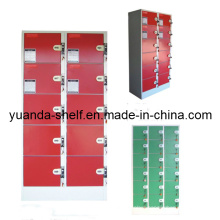Supermarket Storage Cabinet Steel Coin Return Operated Locker