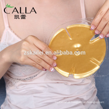 Ouro de cristal do colagénio do ouro 24K que firma a máscara do peito