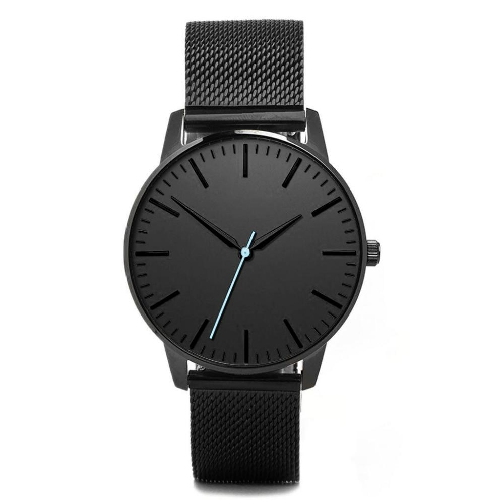 3 ATM Water Resistant All Stainless Steel Minimalist Quartz Watch