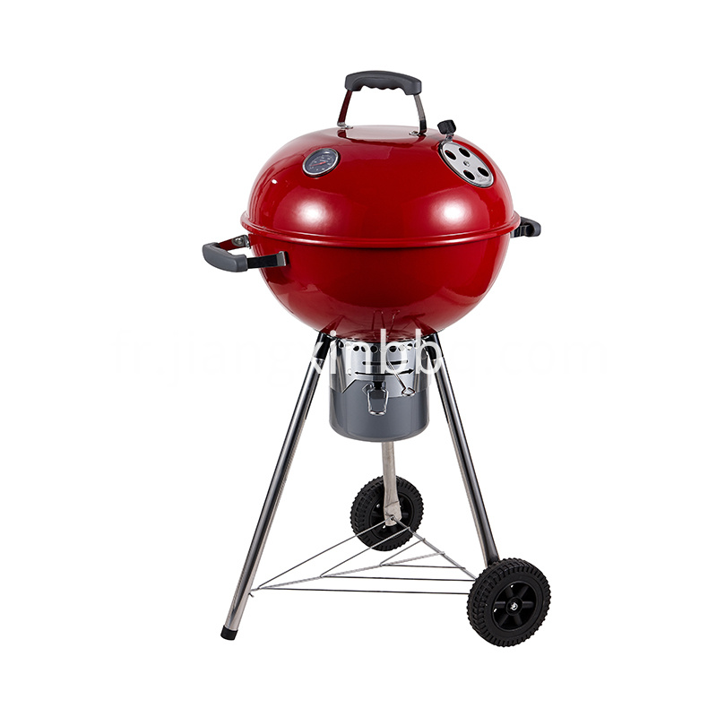 18 Deluxe Weber Style Grill Red