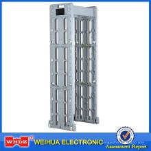 Caminata portátil a través del detector de metales con plegable tipo aeropuerto impermeable WH600T