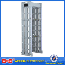 Portable Walk through Metal Detector with folding type airport waterproof WH600T