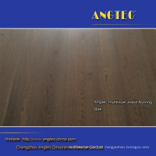 Heat Insulation Rustic Groove Engineered Wood Flooring