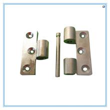 Carcaça de investimento de aço para dobradiças e parafusos de porta