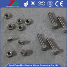Molybdenum nuts and bolts screws for sale