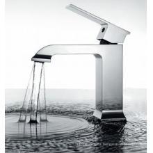 Grifería de agua del grifo del lavabo de la sola palanca Dh07