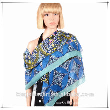 fashion lady's best-selling printed voile scarf shawl with OEM and ODM design