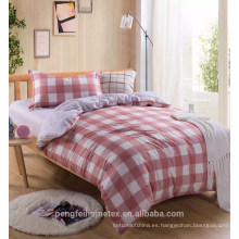 Tejido de microfibra de dispersión de poliéster de estilo simple para ropa de cama con grandes diseños