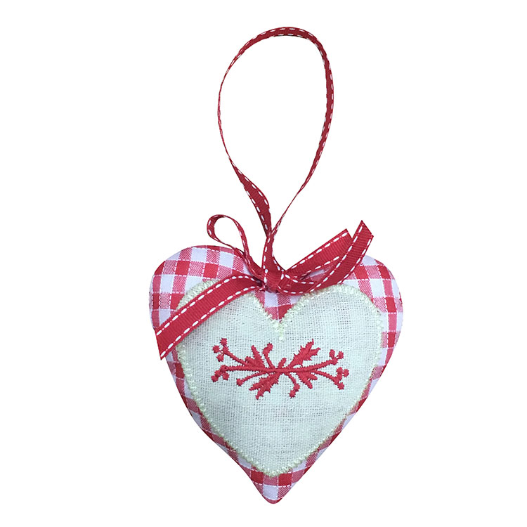Christmas Heart Hanging Ornaments Decorations