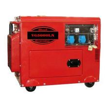 Portable 5kVA Silent Diesel Generator Set