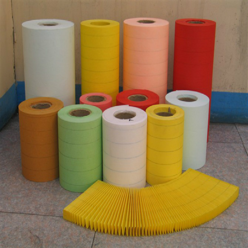 Crepe Filter Paper For Diesel Filter Impregnated Filter Paper