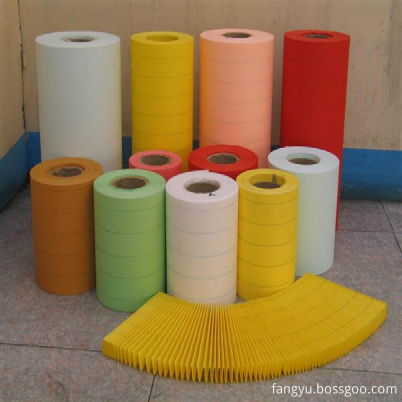 Crepe Filter Paper For Diesel Filter Impregnated Filter Paper