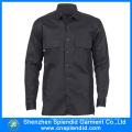 Wholesale Roupas de trabalho Mens Camisas de segurança de manga comprida