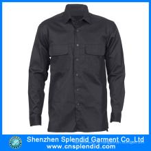 Großhandelsarbeitskleidung Mens Long Sleeve Security Shirts