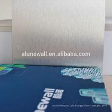 3MM PVDFTV Backboard Aluminium Verbundplatte