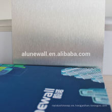 3MM PVDFTV Tablero de panel compuesto de aluminio