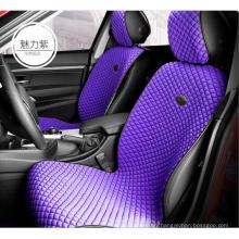 Car Seat Cover Flat Shshape Ice Silk-Purple