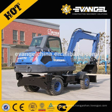 USED 8Ton Mini Wheel Excavator WYL85 For Sale