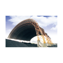 Space Frame Arch Coal Storage